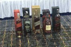 Polisi Tangkap Kelompok Pemalsu Minuman Keras Impor Berbagai Merek