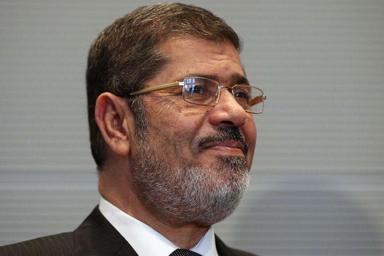 Mantan Presiden Mesir Mohamed Morsi.