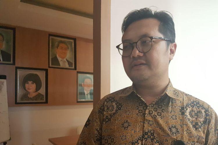Pakar analitika media sosial dan digital dari Universitas Islam Indonesia (UII), Ismail Fahmi, seusai diskusi bertajuk Membaca Strategi Pelemahan KPK: Siapa yang Bermain? di ITS Tower, Jakarta, Rabu (18/9/2019).