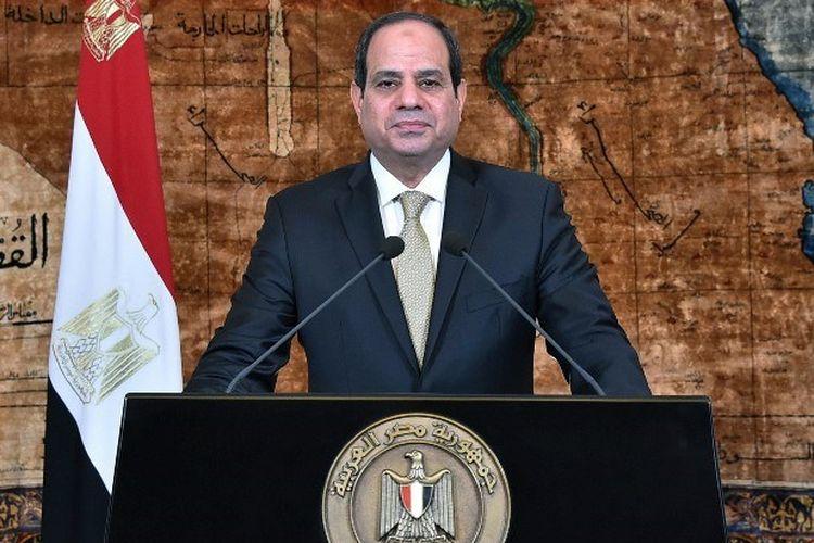Abdul Fattah al-Sisi menjadi presiden Mesir sejak 2014 setelah melakukan kudeta pada Presiden Mohammed Morsi.