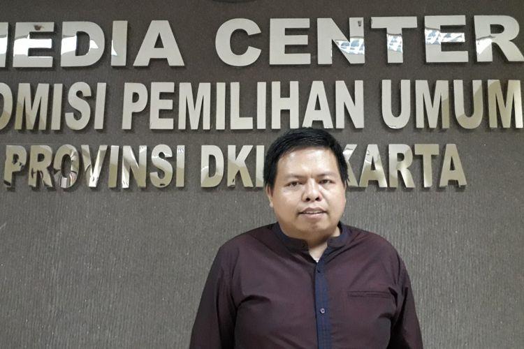 Komisioner KPU DKI Jakarta, Nurdin saat ditemui Kompas Kamis (12/7/2018)