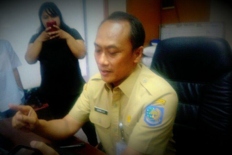 Direktur Jenderal Kependudukan dan Catatan Sipil Kementerian Dalam Negeri, Zuhdan Arif Fakrullah saat ditemui awak media di Kemendagri, Jakarta Pusat, Senin (3/7/2017).