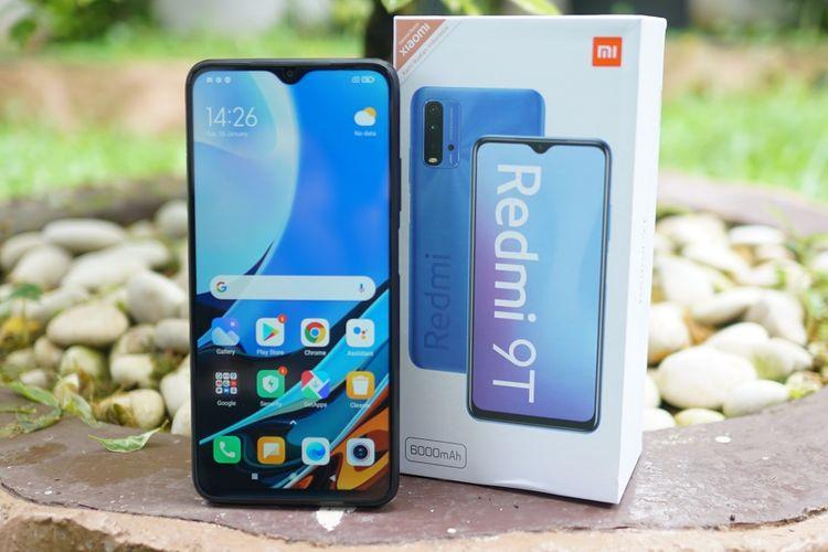 Xiaomi resmi merilis Redmi 9T di Indonesia. Ponsel kelas menengah ini punya baterai 6.000 mAh.
