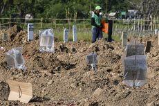 Cerita Haris, Petugas Makam TPU Tegal Alur yang Sudah Lupa Kapan Terakhir Libur Kerja