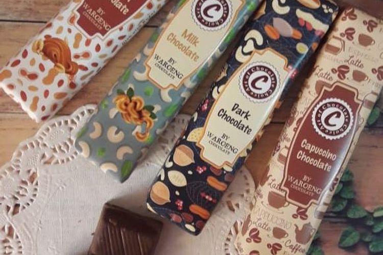 Produk olahan cokelat Waroeng Cokelat