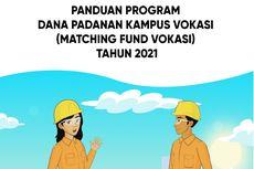 Matching Fund Vokasi 2021 Dibuka, Berikut Syarat yang Harus Disiapkan Pengusul