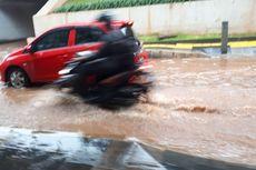Hujan Deras, Jalan Jenderal Sudirman yang Sempat Banjir Kini Surut