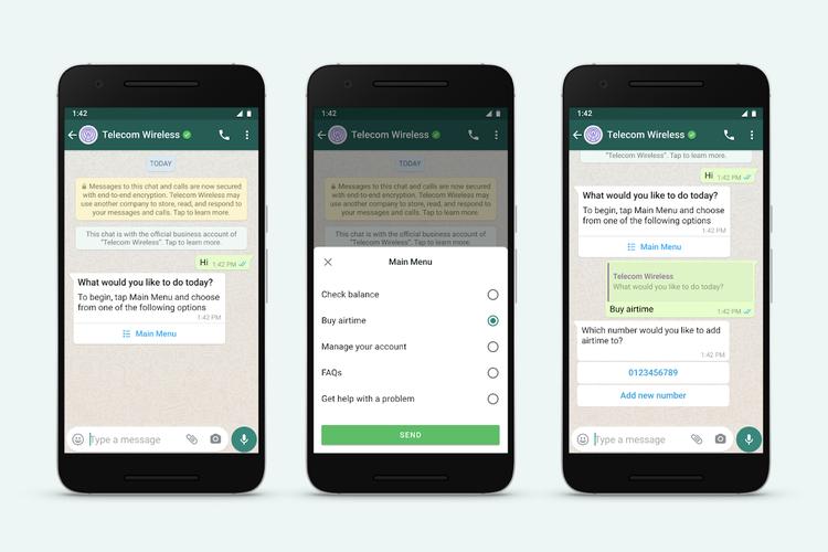 Pembaruan WhatsApp Business API.