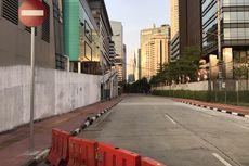 Pengendara dari Arah Jalan Gatot Subroto Dilarang Lintasi Jalan Tembus Garnisun
