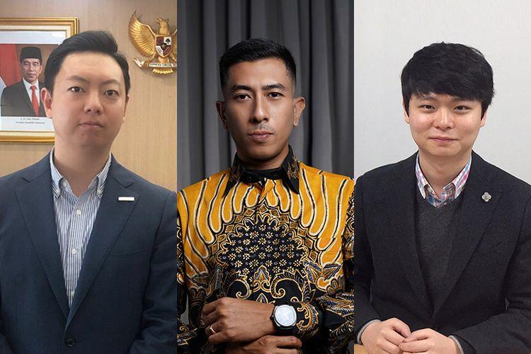 Hyukjae Hong, Randy Bimantoro, dan Chanam Park