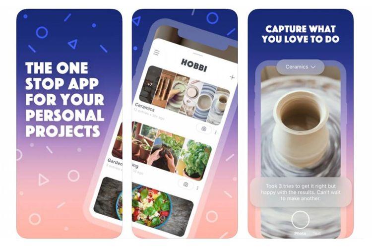 Aplikasi Hobbi bikinan Facebook.