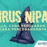 Pakar Unair: Virus Nipah Bisa Berkembang di Indonesia