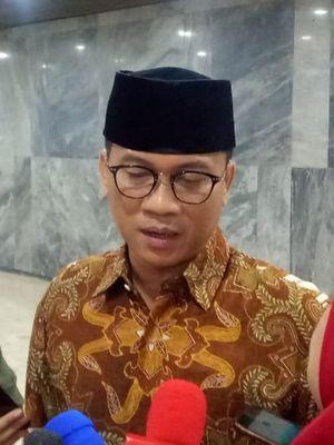 Wakil Ketua Badan Pemenangan Nasional (BPN), Yandri Susanto di Gedung DPR RI, Jakarta, Senin (18/3/2019).