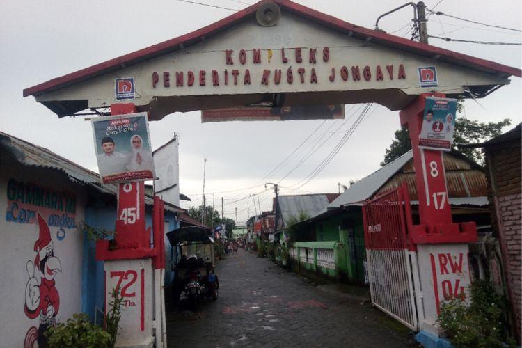 Kampung Jongaya , kompleks kusta di Makassar