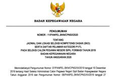 Jadwal dan Lokasi Tes SKD CPNS 2019 di BKN Diumumkan, Ini Rinciannya