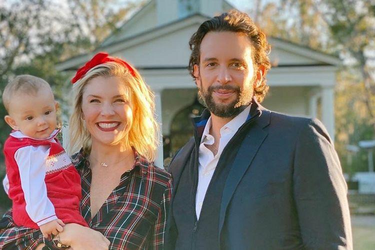 Pasangan selebritas Amanda Kloots dan Nick Cordero.