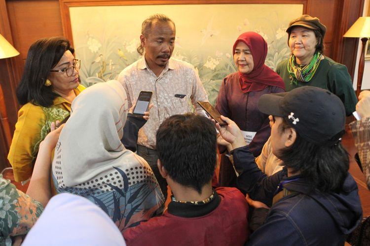 National Chairman IFC Ali Charisma saat diwawancarai media di Jakarta, Kamis (6/2/2020).