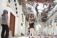 Atap Serambi Masjid di Sukoharjo Roboh, Diduga Salah Konstruksi