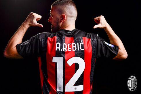 Susunan Pemain AC Milan Vs Fiorentina, Rebic Gantikan Ibrahimovic Lagi