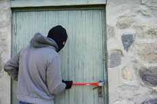 Pencurian Motor di Grogol Petamburan, Aksi Pelaku Terekam Kamera CCTV