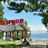 Indahnya Pemandangan Danau Toba dari Ketinggian di Geosite Sipinsur