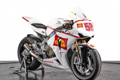 Honda CBR1000RR Peninggalan Simoncelli Dibanderol Rp 807 Juta