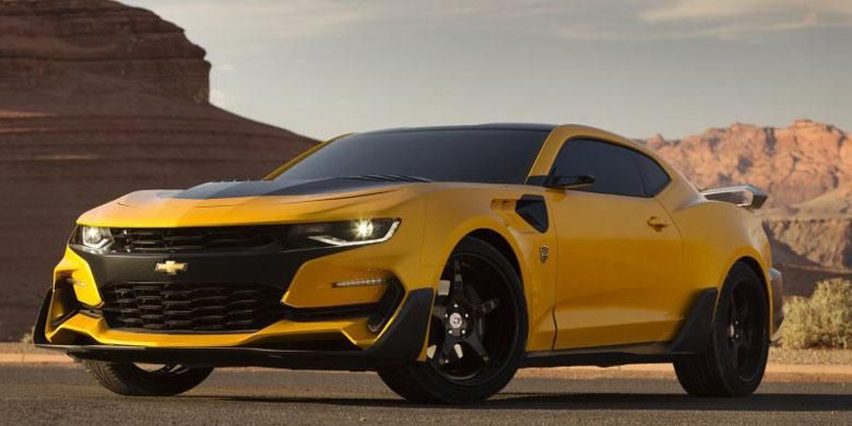 Chevrolet Camaro yang akan hadir di Transformers mendatang.