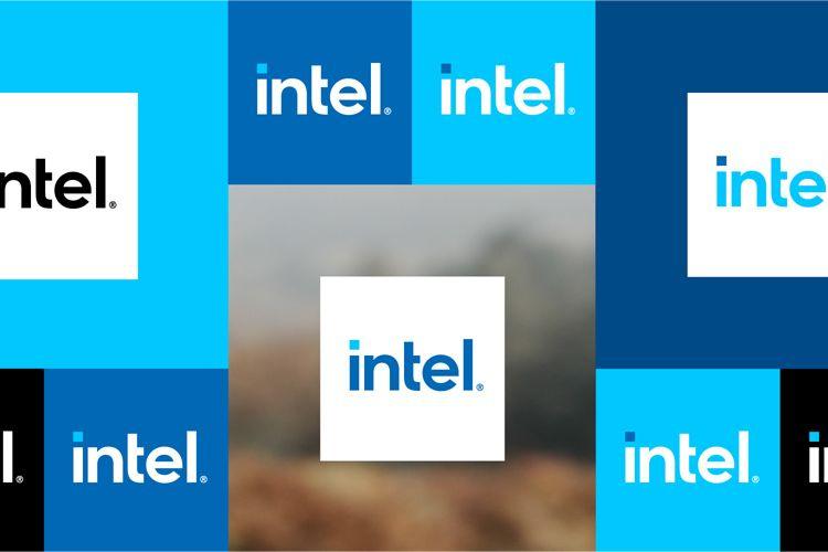 Logo baru Intel.