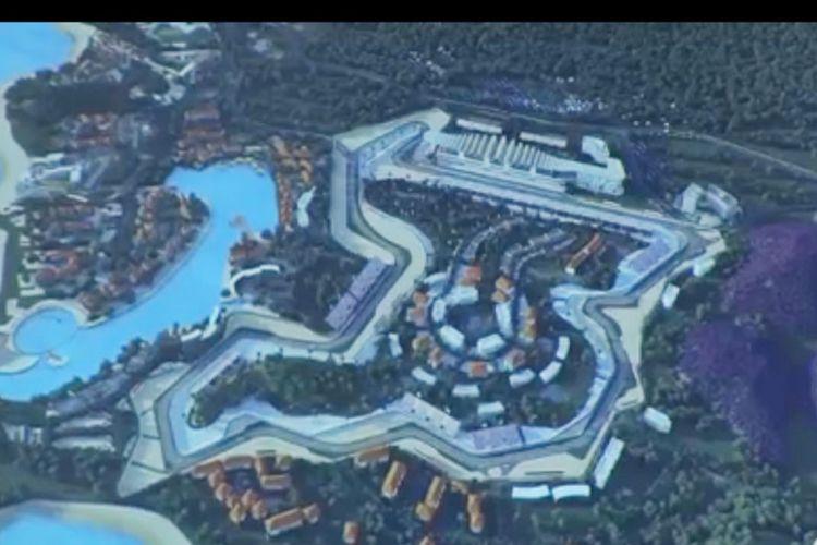 Proyek MotoGP Indonesia secara resmi dikenalkan di Qatar