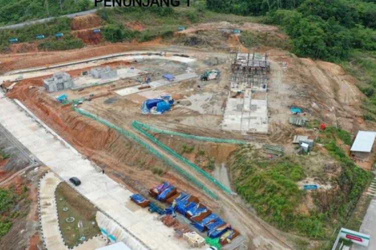 PLBN Jagoi Babang di Kalimantan Barat.