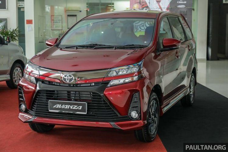 Toyota Avanza mendarat di Malaysia