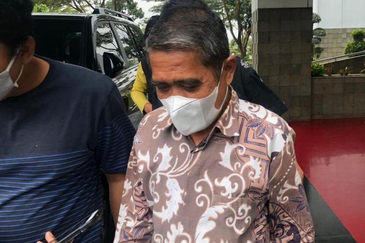 Wakil Bupati Ogan Ilir terpilih Ardani usai menjalani pemeriksaan di Kejaksaan Tinggi (Kejati) Sumatera Selatan, Kamis (4/2/2021).