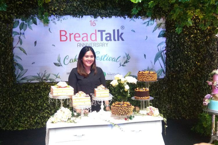 Bella Fathia Ulfa, Marketing Communication Supervisor Breadtalk Indonesia