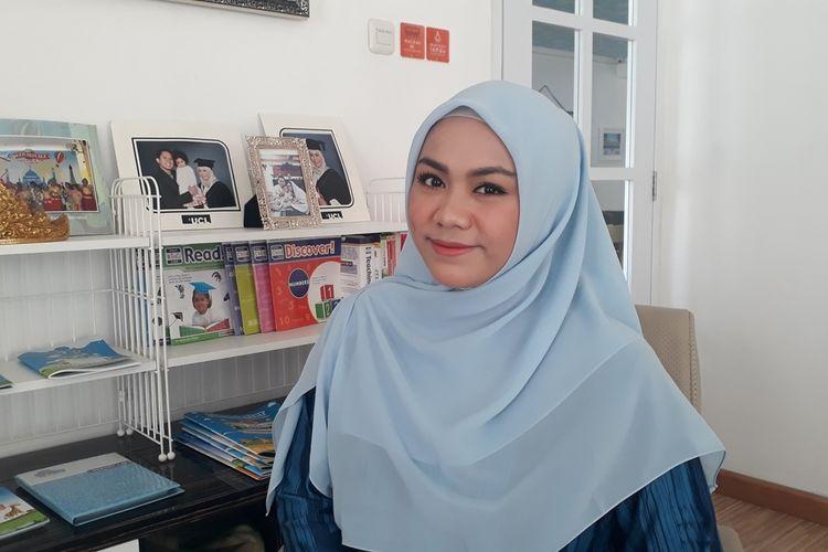 Zita Anjani, anggota DPRD DKI Jakarta terpilih periode 2019-2024 dari Fraksi PAN. Foto diambil Kamis (15/8/2019).