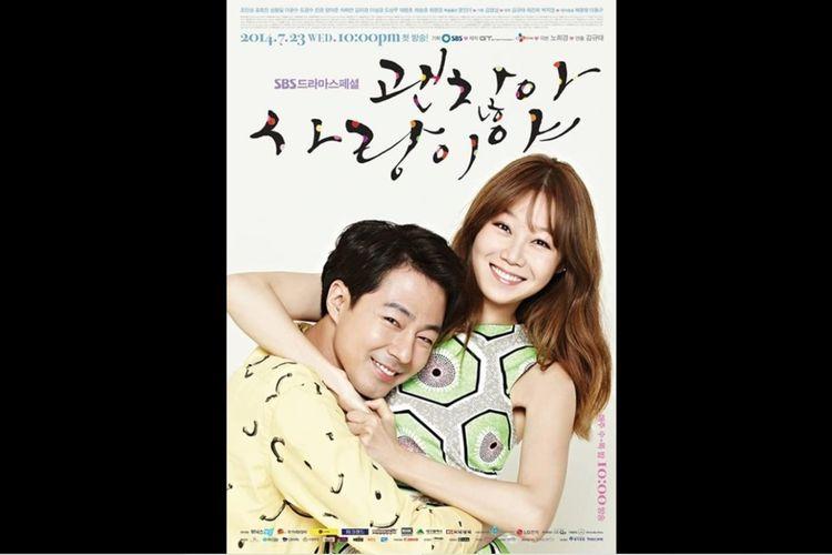 Gong Hyo Jin dan Jo In Sung dalam serial drama It's Alright, This is Love (2014).