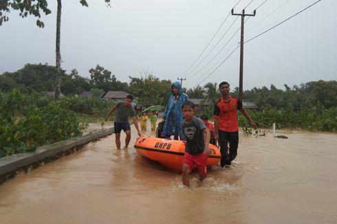 Banjir di Karawang Meluas, Seribuan Warga Mengungsi
