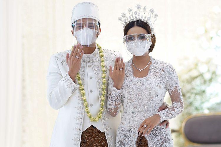 Atta Halilintar dan Aurel Hermansyah resmi menikah pada 3 April 2021