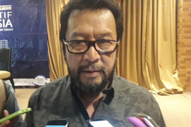 Politikus Partai Golkar Yorrys Raweyai saat ditemui di kawasan Cikini, Jakarta Pusat, Sabtu (24/8/2019).