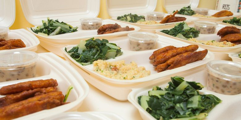 Penggunaan styrofoam untuk wadah makanan