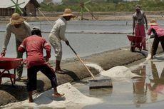 Tolak Impor, Petani Garam Demo di Tiga Kementerian