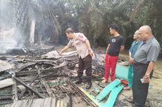 1 Orang Tewas dalam Kebakaran 2 Rumah di Lokalisasi Prostitusi Pekanbaru