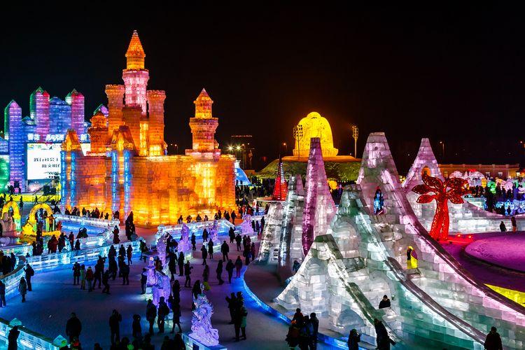 Festival es internasional di Harbin, China
