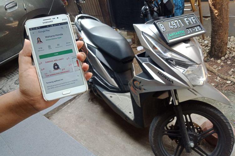 Aplikasi Wahana Honda