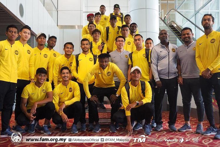 Skuad timnas Malaysia untuk Kualifikasi Piala Dunia 2022 zona Asia.