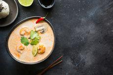 Resep Sup Tom Yam Udang Kuah Santan buat Makan Malam