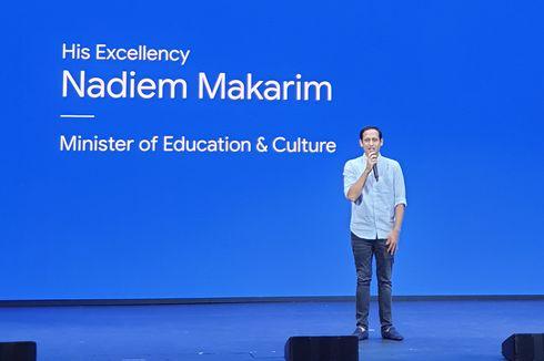 Mendikbud Nadiem Minta Google Bantu Dorong SDM Teknologi di Indonesia