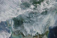 Seperti Ini Penampakan Kebakaran Hutan Kalimantan Menurut Citra Satelit NASA