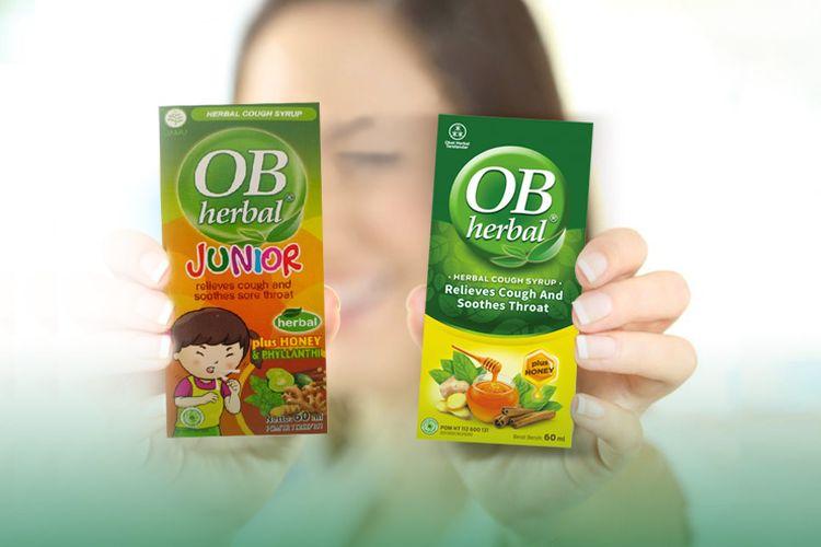OB Herbal dan OB Herbal Junior.