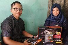 Pria Surabaya Lamar Kekasih Pakai Motherboard dan VGA