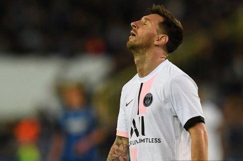 Lionel Messi, Kala Debut La Pulga di PSG dan Barcelona pada Liga Champions Tidak Sempurna